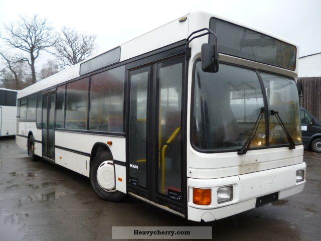 1999 MAN  NL 202 (Motorschaden!) Coach Public service vehicle photo