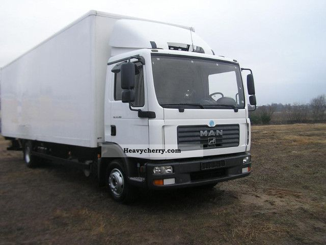 2006 MAN  CASE 12 180 with 20 pallets lbv Truck over 7.5t Box photo