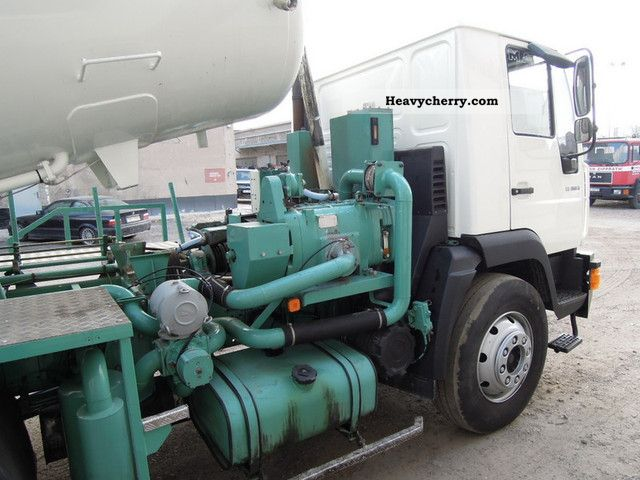 Man Le 180b Vacuum And Sewer Cleaning Vehicle 2003 Vacuum