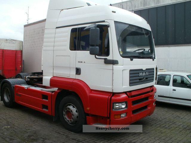 2002 MAN  TGA 360A Semi-trailer truck Standard tractor/trailer unit photo