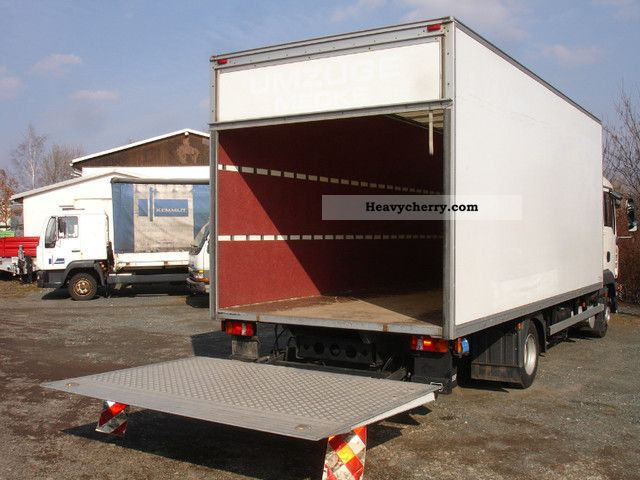 288caa817e5012 2007 MAN TGL 8.180 Möbelkoffer tail lift sleeper cab Van or truck up to 7.5t  ...