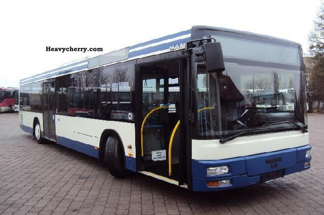 2002 MAN  A 21 climate Coach Public service vehicle photo