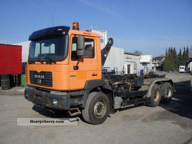 2001 MAN  27 464 26 464 6x4 6x4 od Truck over 7.5t Tipper photo