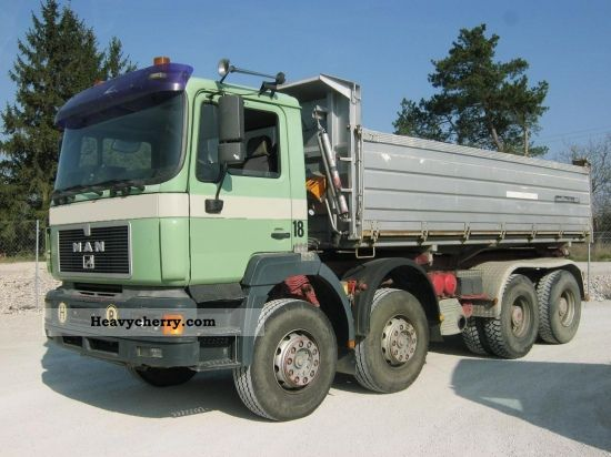 1999 MAN  VFK 41 403 3-TRUCK SIDE, MANUAL, E2 Truck over 7.5t Three-sided Tipper photo