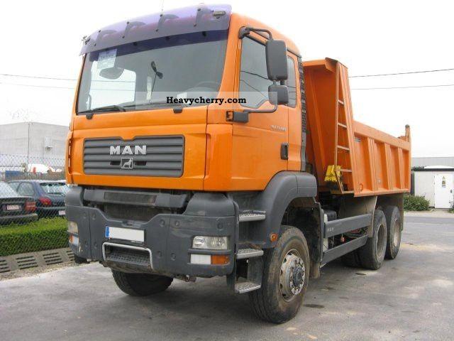 2007 MAN  TGA 33.440 6x6 BB Truck over 7.5t Tipper photo