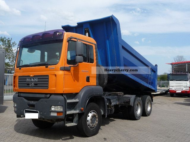 2007 MAN  TGA 33.350 top condition! prod. 2007 ONLY 77tkm Truck over 7.5t Tipper photo
