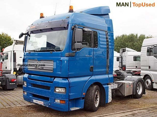 2007 MAN  TGA 18.440 4X2 BLS Semi-trailer truck Volume trailer photo