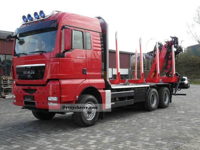 2011 MAN  TGX 33.540 6x4 BB stool Epsilon M120 Z 9.6 Truck over 7.5t Timber carrier photo