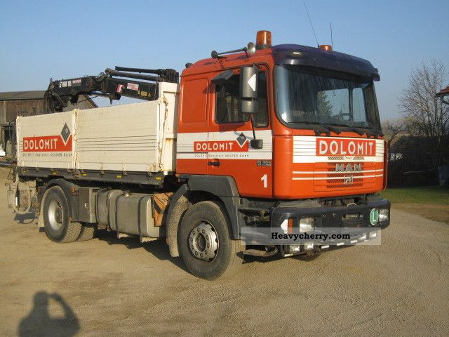 2000 MAN  19 464 Truck over 7.5t Truck-mounted crane photo