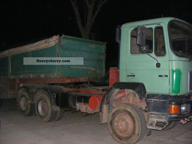 1992 MAN  26 422 6x6 Truck over 7.5t Chassis photo
