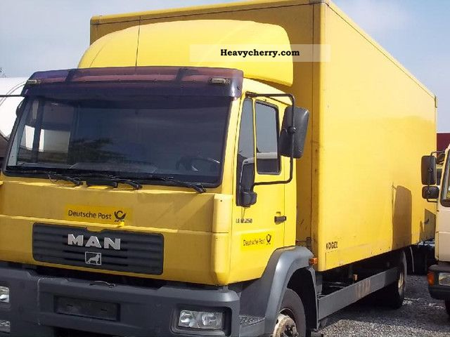 2003 MAN  LE 12 250 cases Truck over 7.5t Box photo