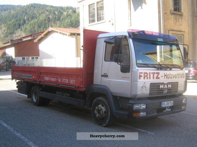 2002 MAN  LE 220 C Truck over 7.5t Stake body photo