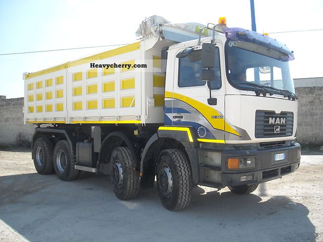 Man 41 464 F2000 2000 Tipper Truck Photo And Specs