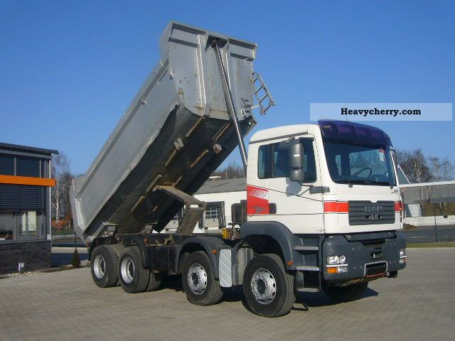 2005 MAN  35 390, 35 390, 35 390, 8x4, Hardoxmulde, Blattgef Truck over 7.5t Tipper photo