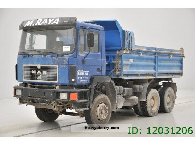 1994 MAN  26 332 - 6X4 Truck over 7.5t Tipper photo