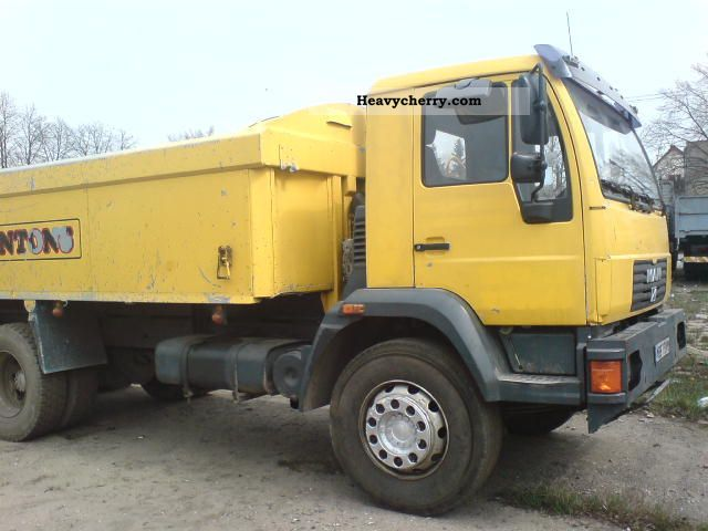 2000 MAN  to 26 284 Truck over 7.5t Tipper photo