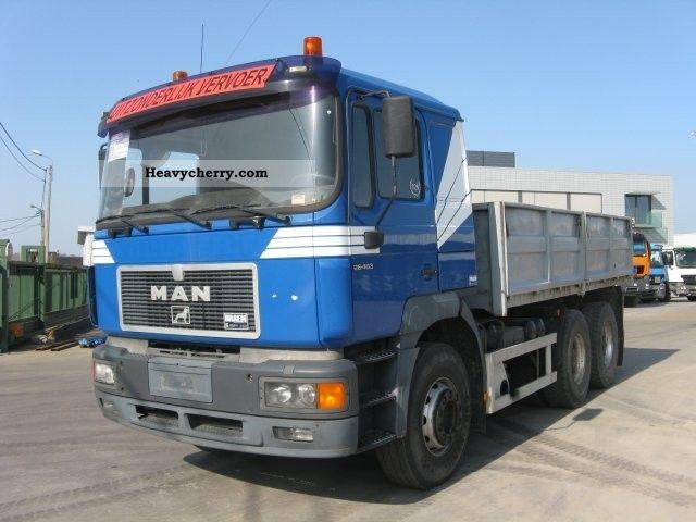 1996 MAN  DF 26 463 6x4 Truck over 7.5t Tipper photo