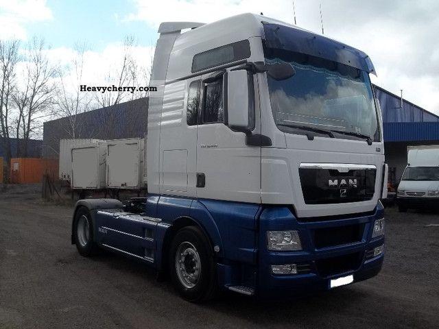 MAN TGX 440/XXL manual 2010 Standard tractor/trailer unit Photo and