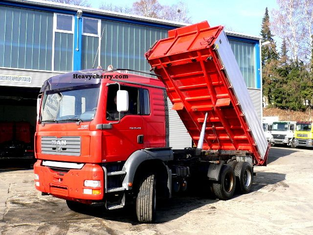 2005 MAN  26.430 6x4 switch / Manuel Truck over 7.5t Tipper photo