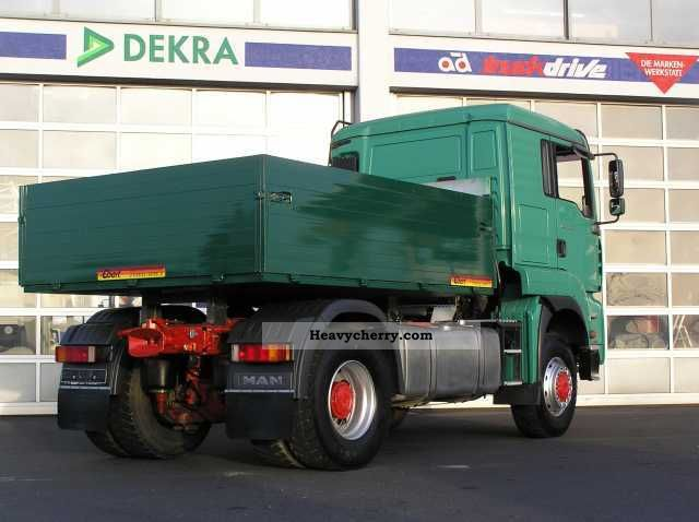 4x4 Truck And Tractors : Man tractor stake body truck photo and specs