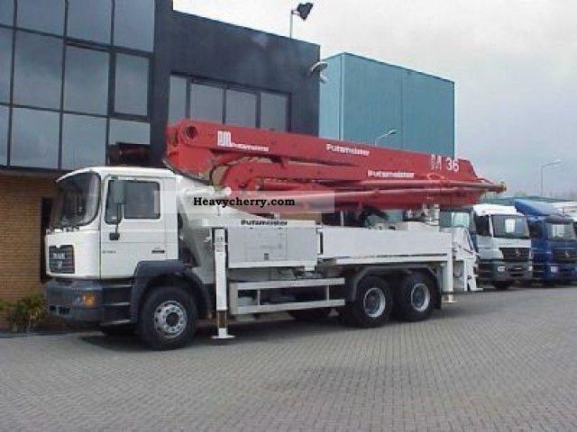Man Fe 310 6x4 Concreet Pump M36 2003 Concrete Pump Truck