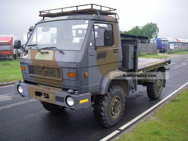 1992 MAN  8-150 FAE 4X4 WHEEL EX-Armu. Truck over 7.5t Other trucks over 7 photo
