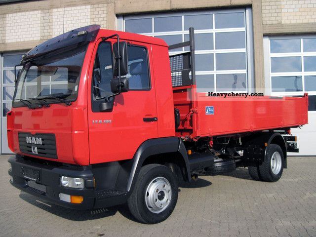 2003 MAN  LE 8.180 tipper Van or truck up to 7.5t Three-sided Tipper photo