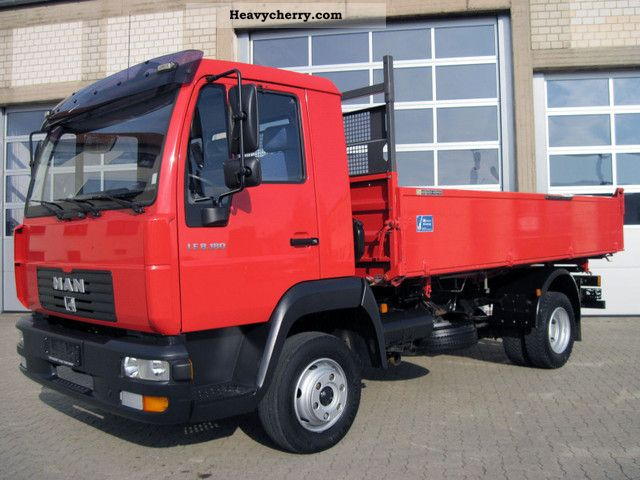 2003 MAN  LE 8.180 tipper Truck over 7.5t Three-sided Tipper photo