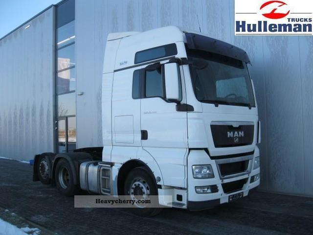 2008 MAN  TGX 26.480 6X2 XL EURO 4 Semi-trailer truck Heavy load photo