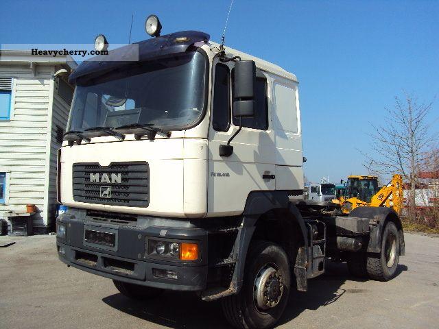 2003 MAN  LAS FE 410 4x4 Semi-trailer truck Standard tractor/trailer unit photo