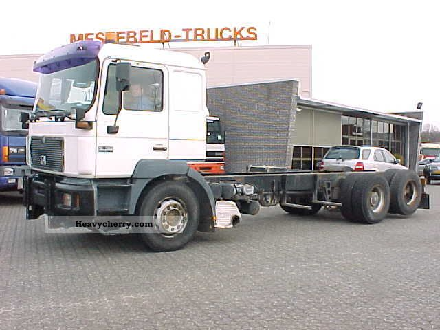 2000 MAN  26 463 6x2 Truck over 7.5t Chassis photo
