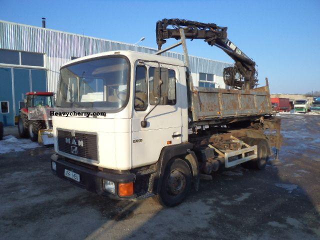 1992 MAN  FK 14 192 Truck over 7.5t Tipper photo