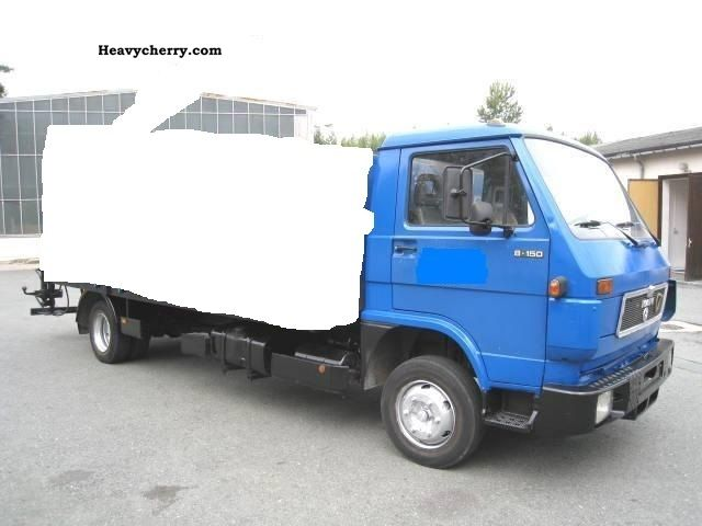 1992 MAN  8150 Van or truck up to 7.5t Stake body photo