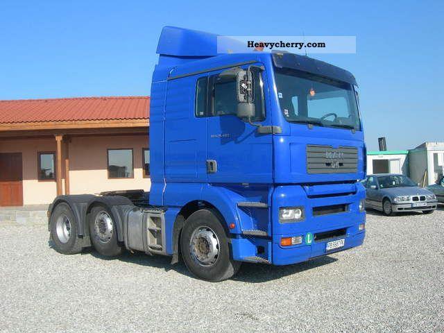 2004 MAN  26.463 6X2 Semi-trailer truck Heavy load photo