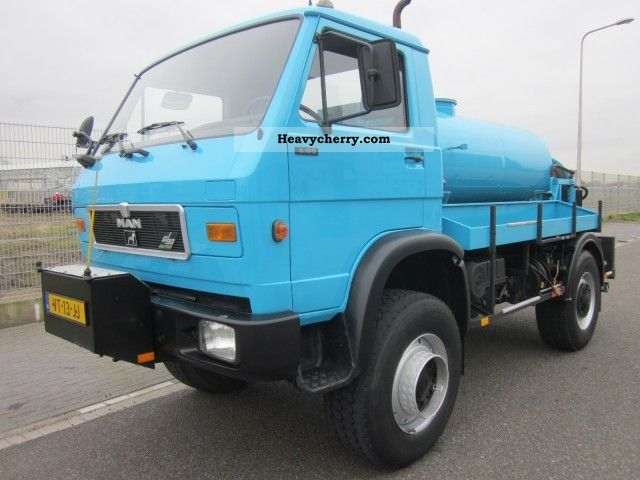 1992 MAN  8-150 rioolwagen Truck over 7.5t Other trucks over 7 photo