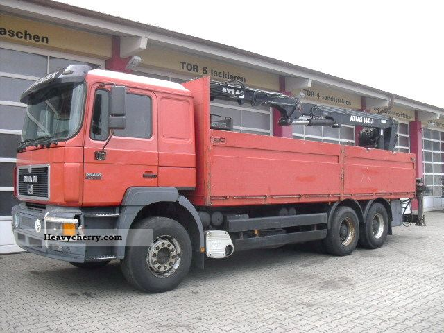 1997 MAN  26.463 6x4 Truck over 7.5t Stake body photo