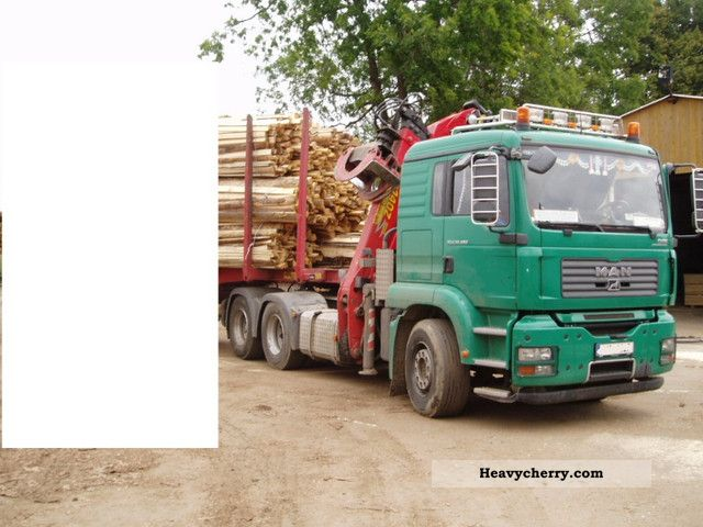 2007 MAN  33.480, 6x4, 140 EPSILON WOOD TOP TOP CONDITION Truck over 7.5t Timber carrier photo