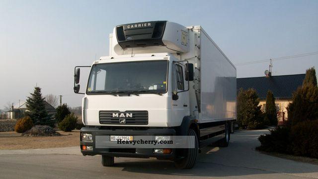 2003 MAN  LE 18 250 Truck over 7.5t Refrigerator body photo