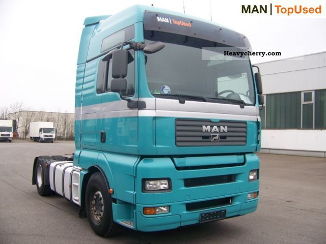 2008 MAN  TGA 18.400 4X2 BLS Semi-trailer truck Standard tractor/trailer unit photo