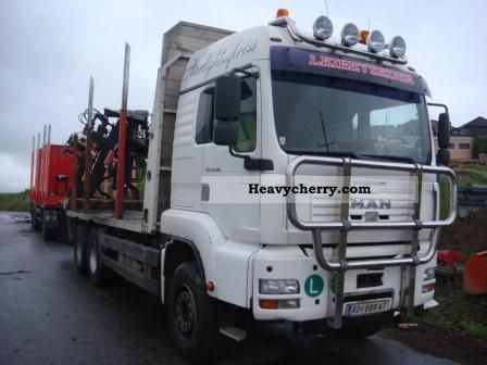 2005 MAN  33 480 Truck over 7.5t Timber carrier photo
