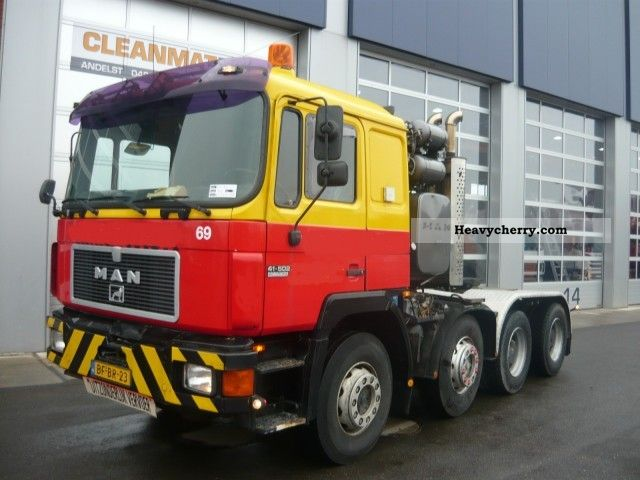 1991 MAN  41 502 ton 8x4 retarder 160! Semi-trailer truck Standard tractor/trailer unit photo