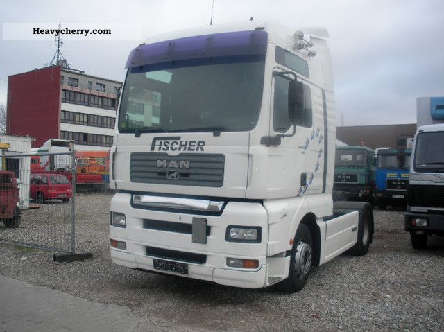 2001 MAN  18 410 18 460 GERMAN VEHICLE NO Semi-trailer truck Standard tractor/trailer unit photo