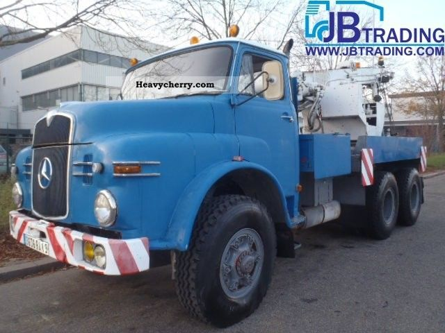1963 MAN  26 230 tow truck Truck over 7.5t Breakdown truck photo