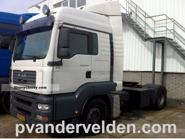 2005 MAN  18 350 FLS Semi-trailer truck Standard tractor/trailer unit photo