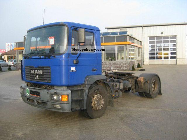 1999 MAN  18 284 4x2! Location note! Semi-trailer truck Standard tractor/trailer unit photo
