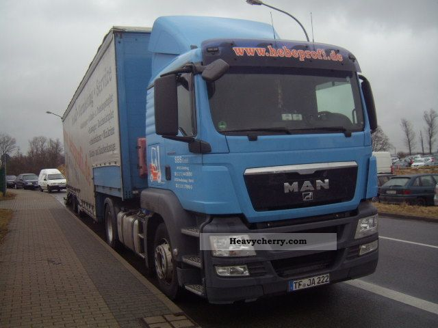 2008 MAN  TGS 18.320 Semi-trailer truck Standard tractor/trailer unit photo