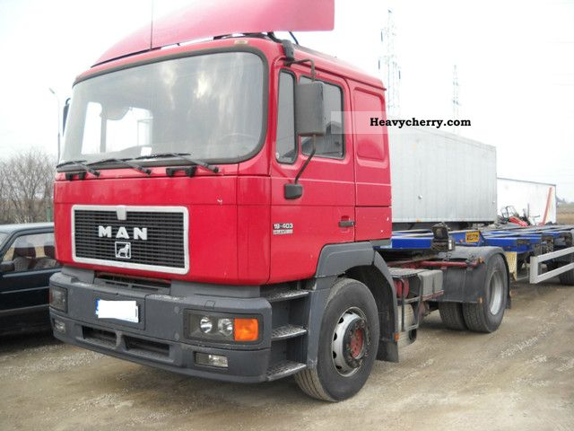 1997 MAN  19 403 Semi-trailer truck Standard tractor/trailer unit photo