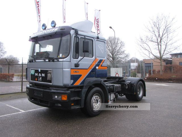 1996 MAN  19 464 Semi-trailer truck Standard tractor/trailer unit photo