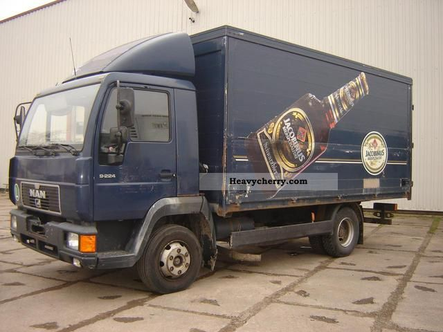 1997 MAN  L 2000/9224 Truck over 7.5t Beverage photo