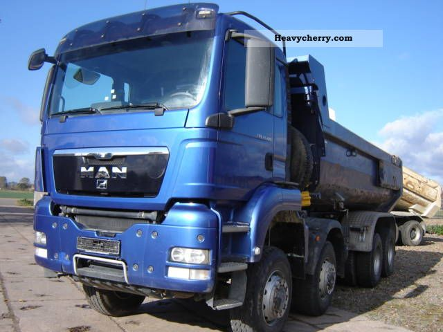 MAN TGS 41 480 / 8x8 kiln dump truck 2007 Tipper Truck Photo